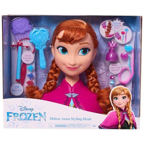 Busto peinable de Anna con Accesorios , Disney Frozen