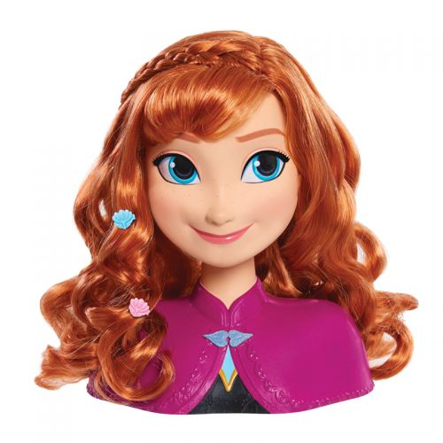 Busto peinable Anna Frozen, incluye 13 accesorios