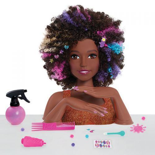 Busto peinable Barbie Afro