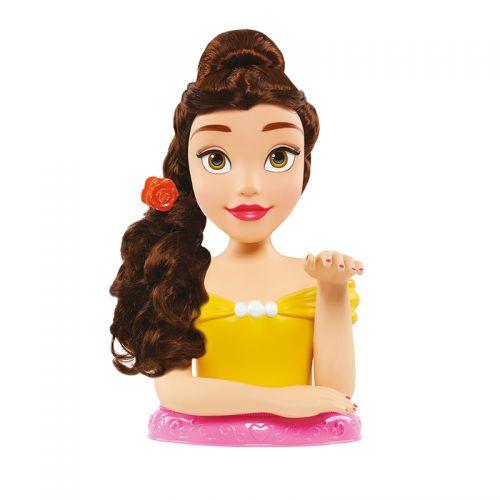 Busto peinable Princesa Belle Disney , incluye 12 accesorios