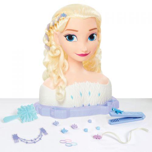 Busto peinable de Elsa con Accesorios , Disney Frozen