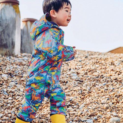 Buzo Impermeable para Niños Dinosaurio - Hasta 3 Años