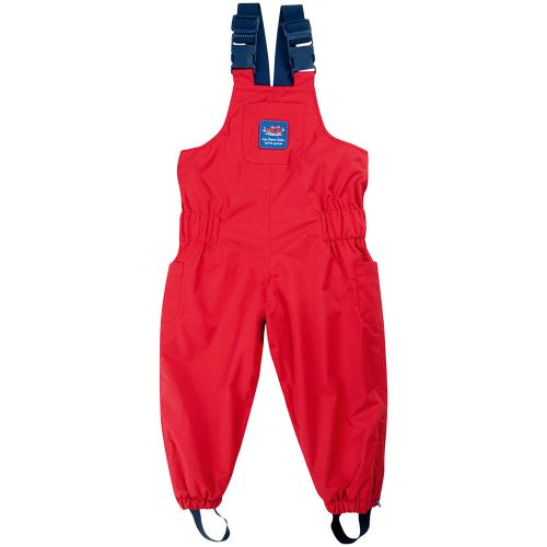 Pantalón Peto polar para Niños rojo