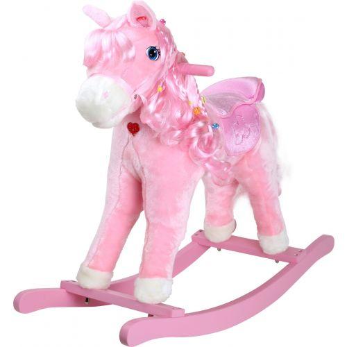 Caballito Balancín Pony Rosa - 3+ años