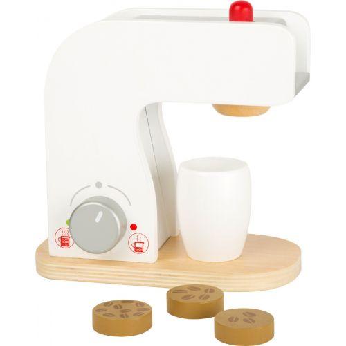 Cafetera para Cocina Infantil - Juguete de madera - 5 piezas