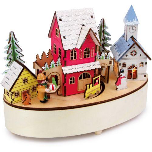 Caja musical y lámpara Tiempo Invernal