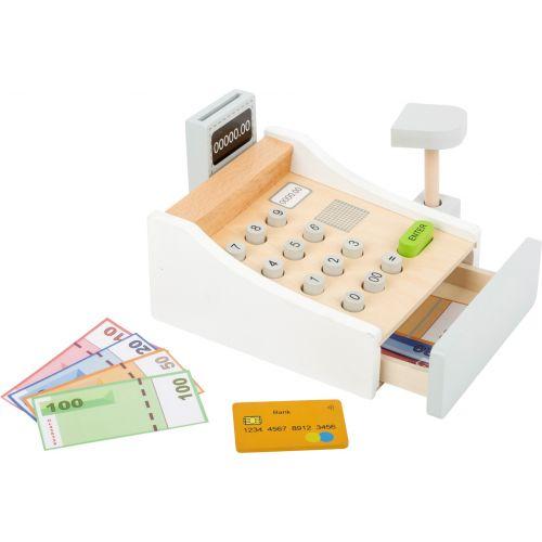 Caja registradora ,  Juguete de madera