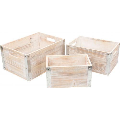 Caja de madera Estilo Industrial , 3 unidades