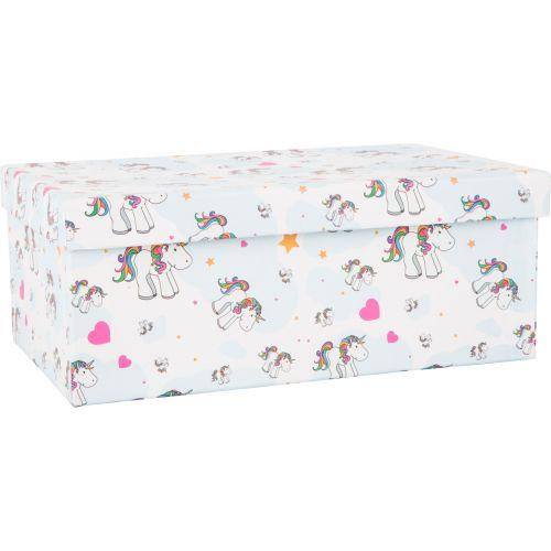 Cajas de regalo con motivo de unicornio