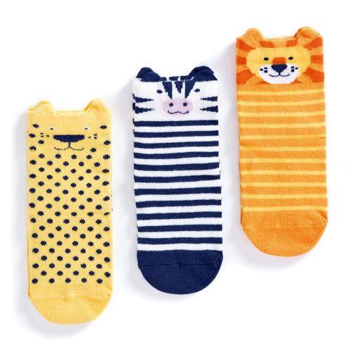 Calcetines Antideslizantes algodón Animales  - 3 Unidades