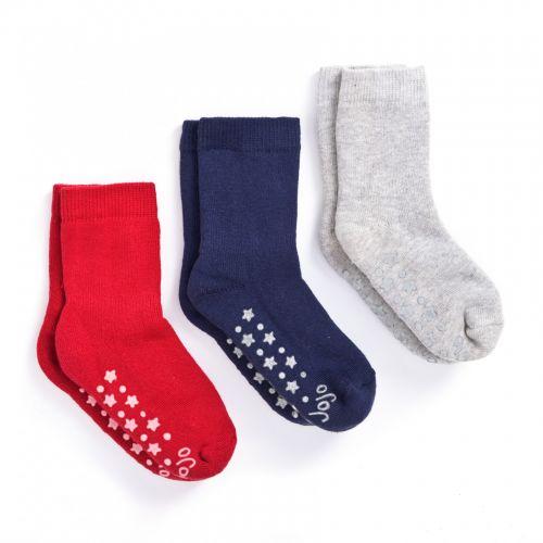 Calcetines Gruesos rojos para Bebés y Niños