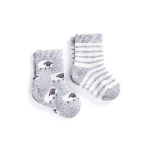 Calcetines para Bebé Ovejitas. Pack de 2 Unidades