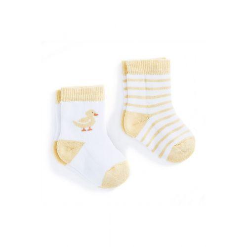 Calcetines para Bebé Patito. Pack de 2 Unidades