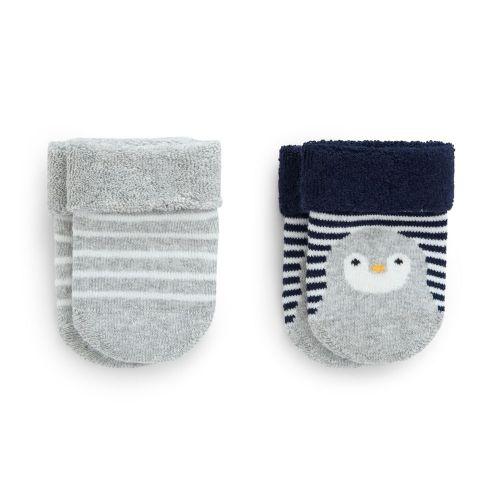 Calcetines para Bebé Pingüino