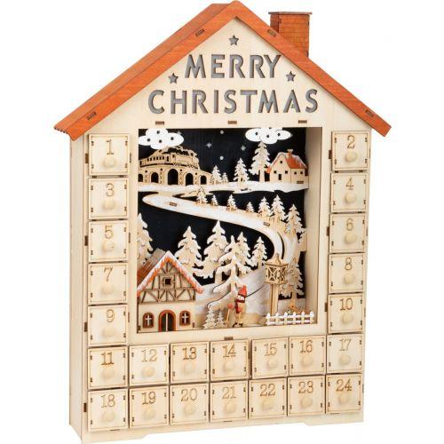 Calendario de Adviento Merry Christmas