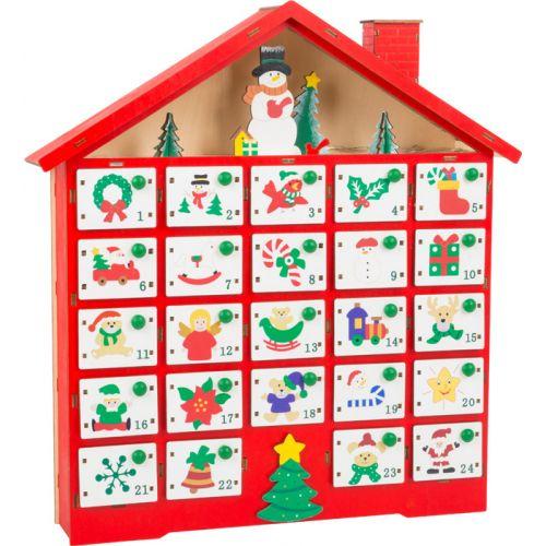 Calendario de Adviento motivos navideños