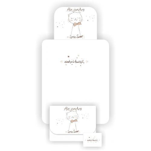 Cambiador Plegable CunaDecor Gatito - Personalizable
