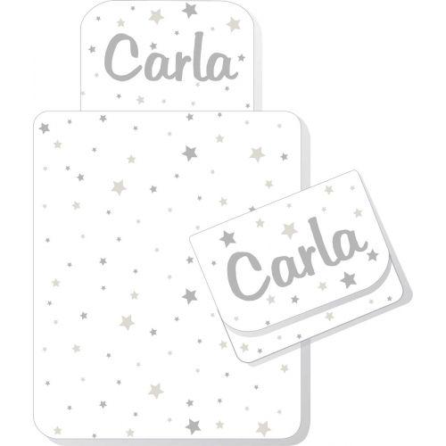 Cambiador Plegable CunaDecor Estrellas - Personalizable