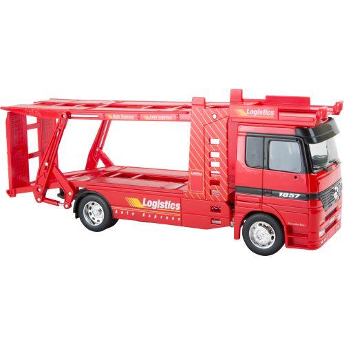 Camión de transporte en miniatura Mercedes Benz