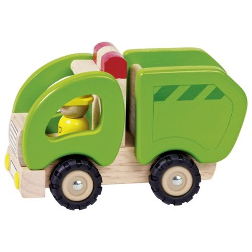 Camión de la basura de juguete , Goki