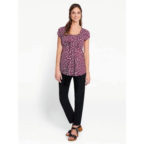 Camiseta Premamá y Lactancia Estampado Beaujolais