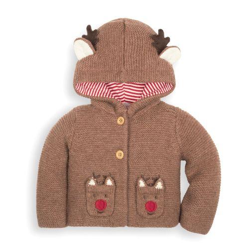 Cárdigan de lana para Bebé Reno