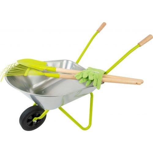 Carretilla con herramientas para jardín Legler