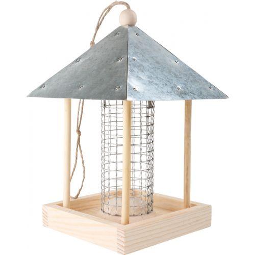 Casa comedero para pájaros