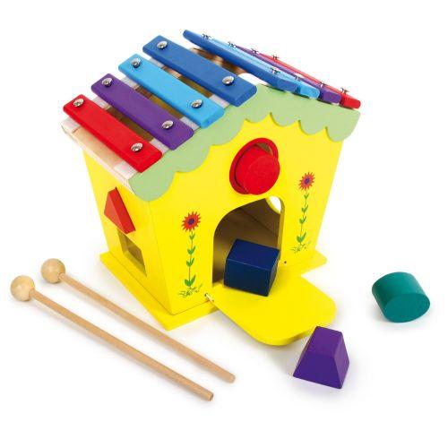 Casa de juego musical Dodoo - a partir de 18 meses