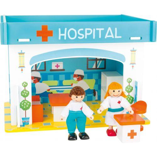 Casa de juegos Hospital con accesorios