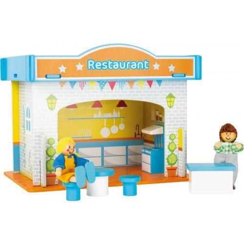 Casa de juegos Restaurante con accesorios
