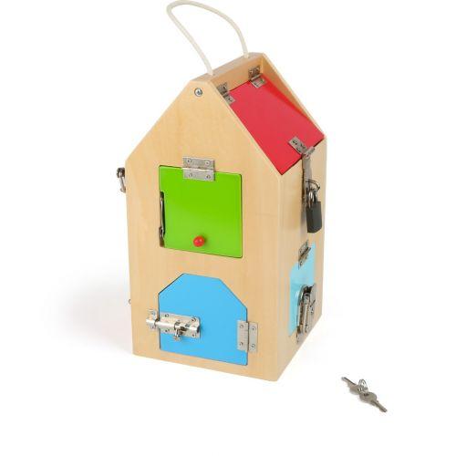 Casa de Cerraduras - Juguete Montessori