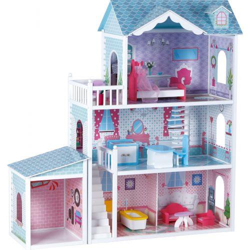 Casa de muñecas Villa deluxe - 123 cm de Altura