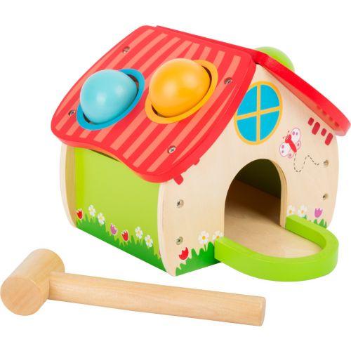 Casa para martillar - Juguete de madera