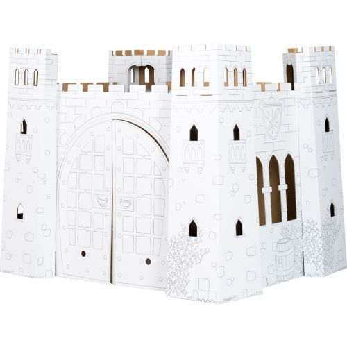 Castillo de juego de cartón - 92 cm