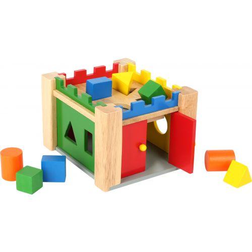 Castillo de piezas encajables de madera