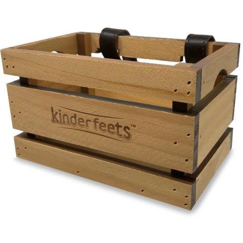 Cesta de madera para Bicicleta Kinderfeets