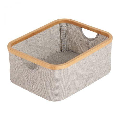 Cesta Bambú Mueble Cambiador Bañera Smart -  Quax
