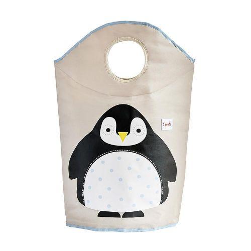 Cesta para Ropa Sucia Pingüino - 3 Sprouts