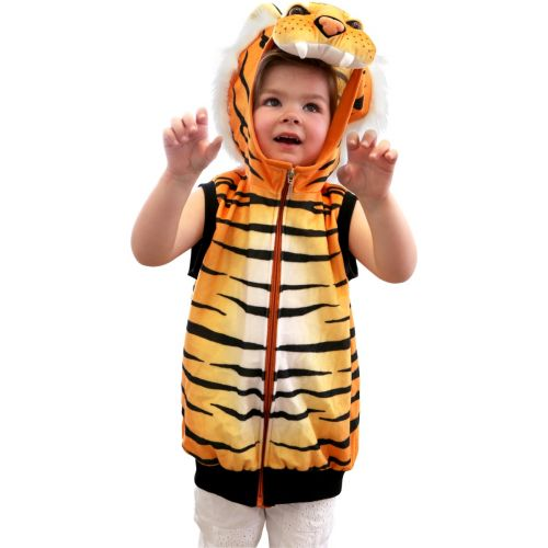 Chaleco Disfraz Tigre - A partir de 3 años