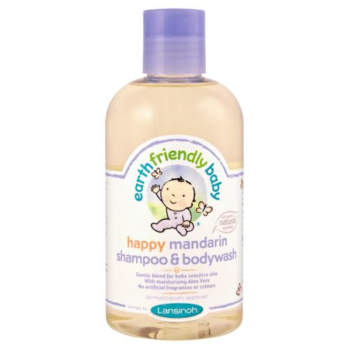 Champú y Gel Mandarina Orgánico para Bebés