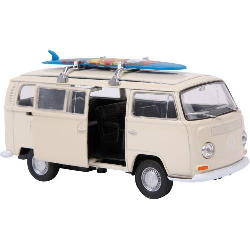 Coche Modelo VW Bus T2 con tabla de surf