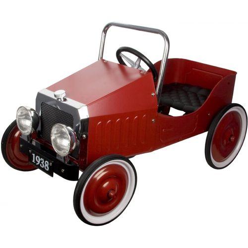 Coche clásico rojo de pedales, Great Gizmos