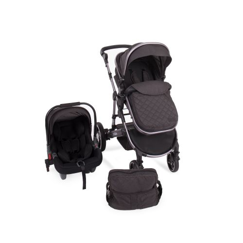 Cochecito de Bebé 3 en 1 D'Ora Kikkaboo gris