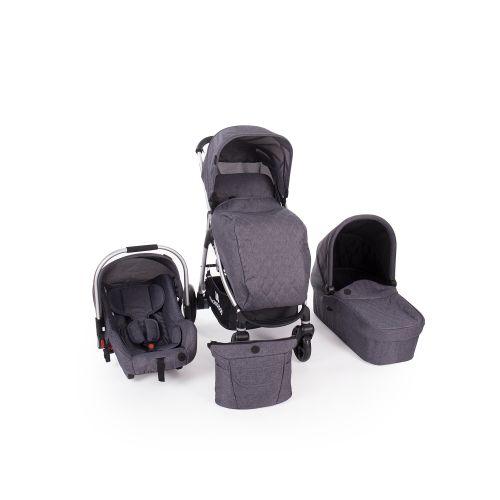 Cochecito de Bebé 3 en 1 Trinity Kikkaboo con Capazo