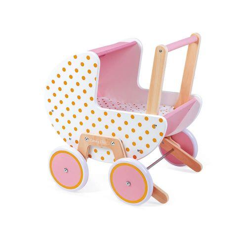 Cochecito de muñecas Candy Chic , Janod