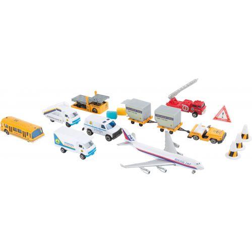 Coches en Miniatura Aeropuerto - 18 piezas
