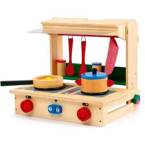 Cocina de juguete en Maleta Profesional