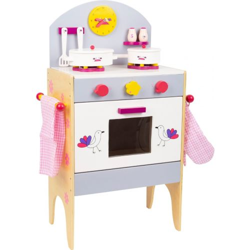 Cocina de juguete de madera con Accesorios