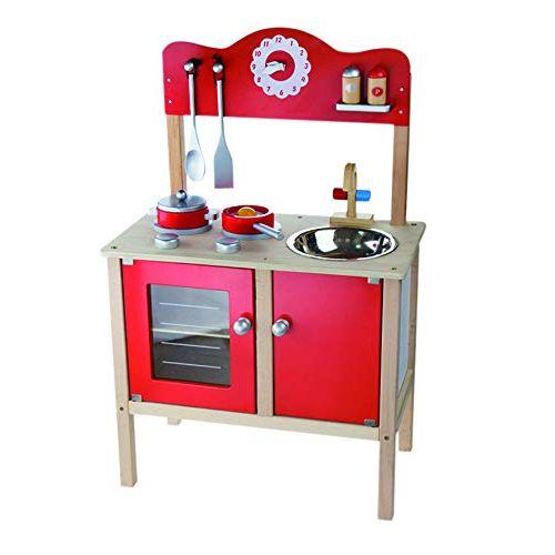 Cocina de madera divertida Andreu Toys